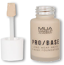 Profumi e cosmetici Fondotinta - MUA Pro Base Long Wear Matte Finish Foundation
