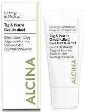 Profumi e cosmetici Fluido per la pelle grassa - Alcina FM Day and Night Facial Fluid