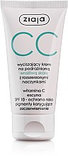 Profumi e cosmetici CC crema calmante per pelli sensibili con capillari dilatati SPF 10 - Ziaja Soothing CC-Cream SPF10