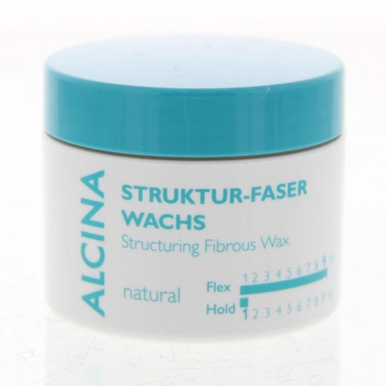 Cera fibrosa, fissazione naturale - Alcina Natural Struktur Faser Wachs — foto N1
