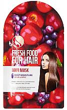 """Profumi e cosmetici Maschera """"Mela e Uva"""" per l'idratazione dei capelli - Superfood For Skin Fresh Food For Hair"""