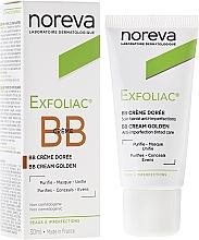 Profumi e cosmetici Correzione crema per la pelle scura - Noreva Laboratoires Exfoliac BB Cream Anti-imperfection Tinted Care