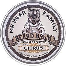 Profumi e cosmetici Balsamo per la barba - Mr. Bear Family Beard Balm Citrus