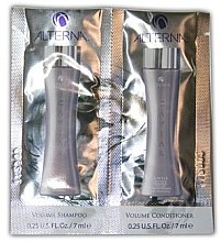 Profumi e cosmetici Mini set - Alterna Caviar Volume (shm/7ml + cond/7ml)