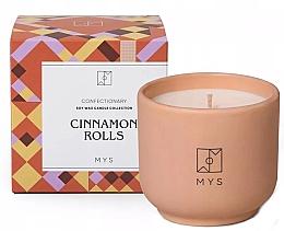 """Profumi e cosmetici Candela di Soia """"Rotolo di cannella"""" - Mys Cinnamon Rolls Candle"""