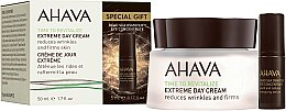 Profumi e cosmetici Set - Ahava Extreme Time to Revitalize (f/cr/50ml + eye/ser/5ml)
