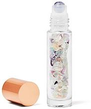 Profumi e cosmetici Bottiglia con cristalli di fluorite arcobaleno, 10 ml - Crystallove