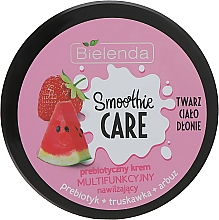 "Profumi e cosmetici Crema corpo idratante ""Anguria e Fragola"" - Bielenda Smoothie Care"
