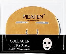 Profumi e cosmetici Maschera al collagene - Pilaten Collagen Crystal Gold Facial Mask