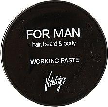 Profumi e cosmetici Pasta opacizzante per capelli - Vitality's For Man Working Paste