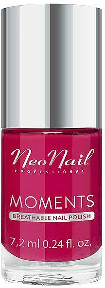 Smalto per unghie - NeoNail Professional Moments Breathable Nail Polish