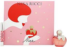 Profumi e cosmetici Nina Ricci Nina - Set (edt/50ml + lipstick/2.5g)
