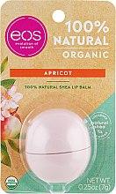 Profumi e cosmetici Balsamo labbra all'albicocca - Eos 100% Natural Organic Apricot Lip Balm