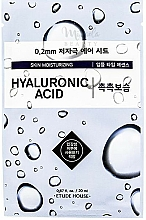Profumi e cosmetici Maschera viso ultrasottile all'acido ialuronico - Etude House Therapy Air Mask Hyaluronic Acid