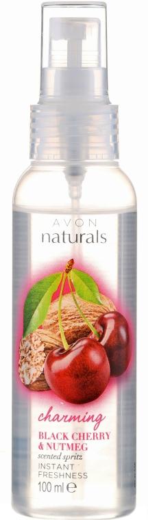 """Lozione-spray corpo """"Ciliegia e Noce moscata"""" - Avon Naturals"""