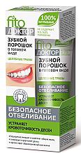 """Profumi e cosmetici Dentifricio in polvere """"Phytodoctor. Erbe curative"""" - Fito Cosmetic"""