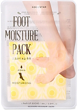 Profumi e cosmetici Maschera piedi idratante - Kocostar Foot Moisture Pack Yellow