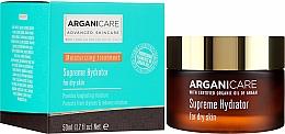 Profumi e cosmetici Crema viso idratante - Arganicare Shea Butter Supreme Hydrator