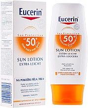 Lozione corpo, extra leggera SPF50 - Eucerin Sun Protection Lotion Extra Light SPF50 — foto N1