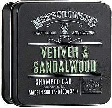 "Profumi e cosmetici Shampoo ""Vetiver e legno di sandalo"" - Scottish Fine Soaps Mens Grooming Vetiver & Sandalwood Shampoo Bar"