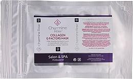 Profumi e cosmetici Maschera viso al collagene - Charmine Rose Collagen G-Factors Mask
