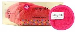 Profumi e cosmetici Mini asciugamano struccante, rosa - Rolling Hills Mini Makeup Remover Pink
