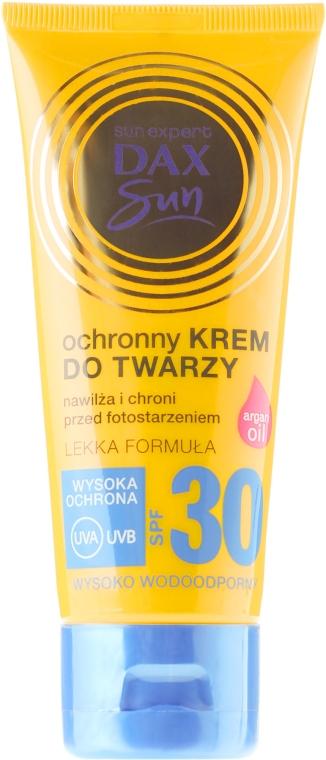 Crema protezione solare viso, con olio di argan - DAX Sun Protective Face Cream SPF 30
