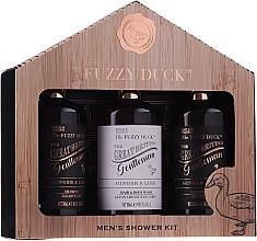 Profumi e cosmetici Set - Baylis & Harding Men's Fuzzy Duck Ginger & Lime Lixury Grooming Gift Set (ash/balm/300ml+shm/300ml+sh/gel/300ml)