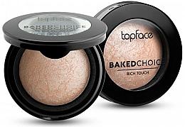 Profumi e cosmetici Illuminante - Topface Baked Choice Rich Touch Highlighter