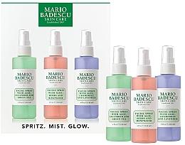 Profumi e cosmetici Set - Mario Badescu Combo Dry Regimen Kit (spray/3x118ml)