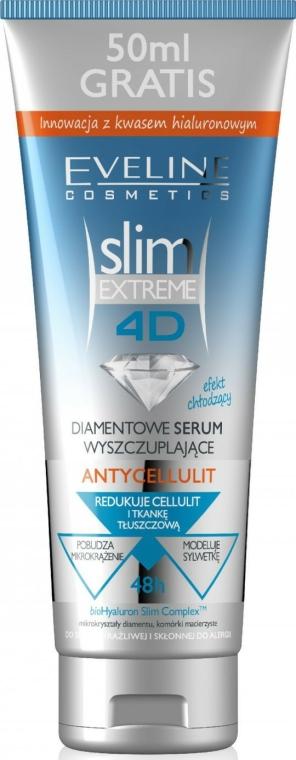 Siero anti-cellulite con effetto rinfrescante - Eveline Cosmetics Slim Extreme 4D Anti-Cellulite Diamond Slimming Serum