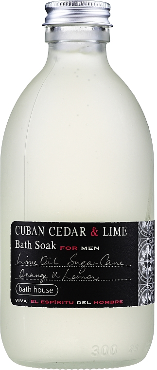 Bath House Cuban Cedar & Lime - Schiuma da bagno — foto N1