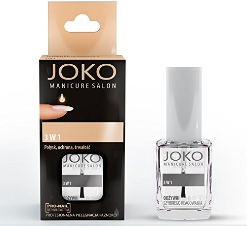 Top coat 3 in 1 - Joko Manicure Salon 3 in 1 Top — foto N1