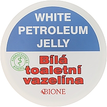 Profumi e cosmetici Vaselina bianca - Bione Cosmetics White Vaseline