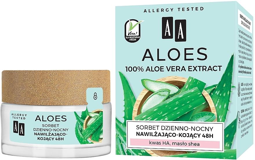 Sorbetto idratante e lenitivo - AA Aloes Sorbet