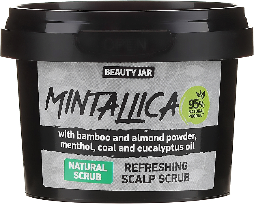 Scrub rinfrescante per il cuoio capelluto - Beauty Jar Mintallica Refreshing Scalp Scrub