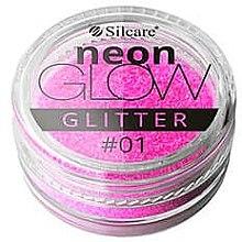 Profumi e cosmetici Glitter per le unghie - Silcare Brokat Neon Glow