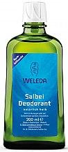 "Profumi e cosmetici Deodorante corpo ""Salvia"" - Weleda Sage Deodorant Refill Bottle (ricarica)"