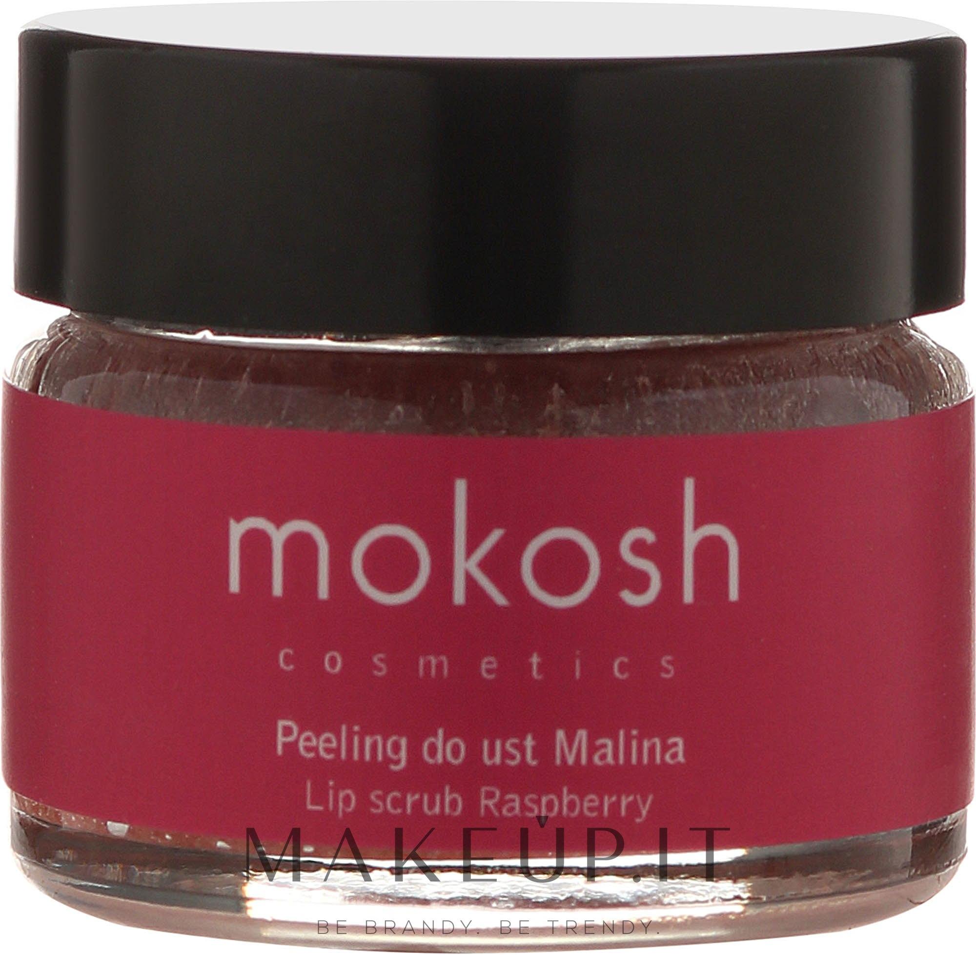 "Scrub labbra ""Lampone"" - Mokosh Cosmetics Lip Scrub Raspberry — foto 15 ml"