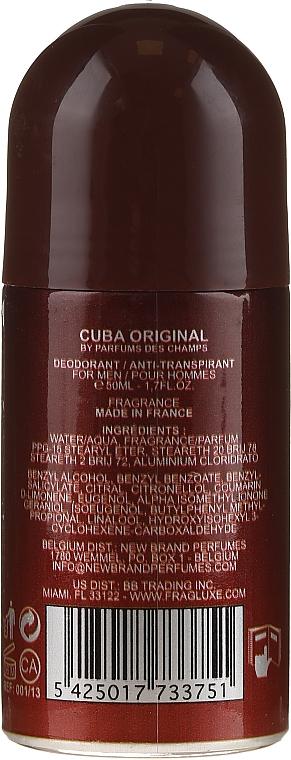 Cuba Green Deodorant - Deodorante roll-on — foto N2