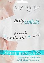 Profumi e cosmetici Bendaggio freddo per il corpo - Marion Anti-Cellulite Cool Bandages