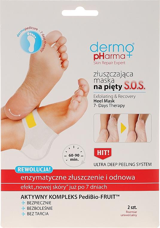 Maschera esfolianteper talloni - Dermo Pharma Skin Repair Expert