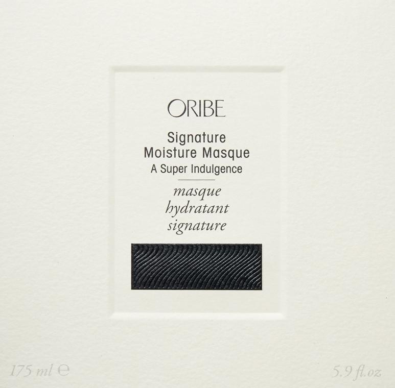Maschera capelli - Oribe Moisture Masque A Super Indulgence — foto N2