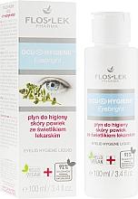 Profumi e cosmetici Fluido igienico per palpebre con estratto di erbe - Floslek Eyebright Eyelid Hygiene Liquid