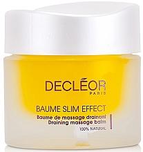 Profumi e cosmetici Balsamo drenante per il rimodellamento del corpo - Decleor Baume Slim Effect