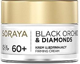Profumi e cosmetici Crema viso rassodante - Soraya Black Orchid & Diamonds 60+ Firming Cream