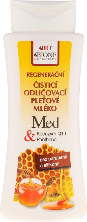 Latte viso - Bione Cosmetics Honey + Q10 Milk