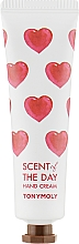 Profumi e cosmetici Crema mani con ciclamino, fresia, sandalo, estratto di muschio - Tony Moly Scent Of The Day Hand Cream So Romantic