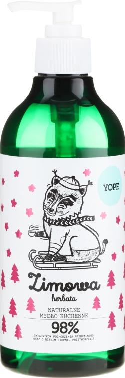 Sapone liquido - Yope Zimowa Herbata Hand Soap