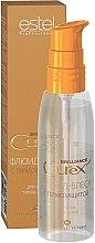Profumi e cosmetici Fluido protettivo termico per tutti i tipi di capelli - Estel Professional Curex Brilliance Fluid